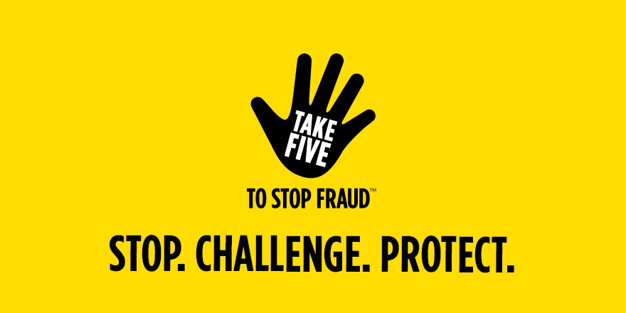 Image of Take Five to stop fraud campaign